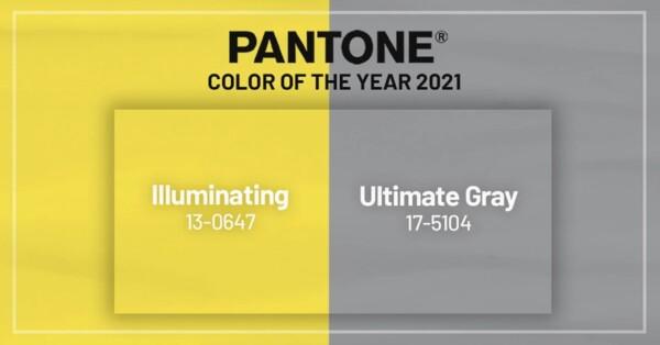 Palette colori Pantone PE 2021: ottimismo e leggerezza